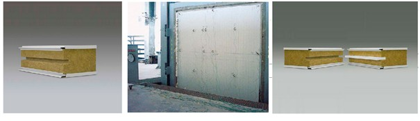 Glacier Coldrooms - Rockwool Fireproof Panels in Stainless, PVC or Coloured Coatings